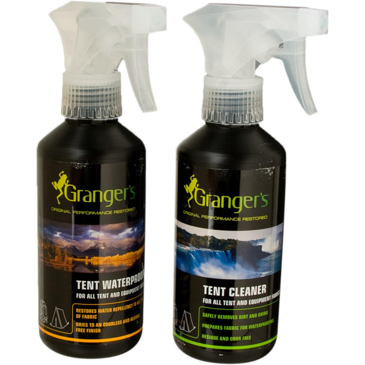 photo: Granger's Tent Cleaner/Waterproofer Kit equipment cleaner/treatment