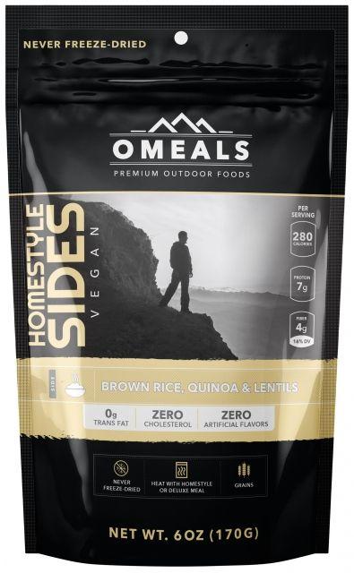 OMeals Brown Rice, Quinoa & Lentils
