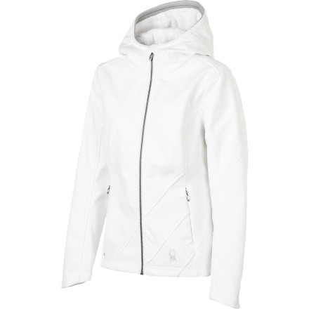 photo: Spyder Arc Hoody Jacket soft shell jacket