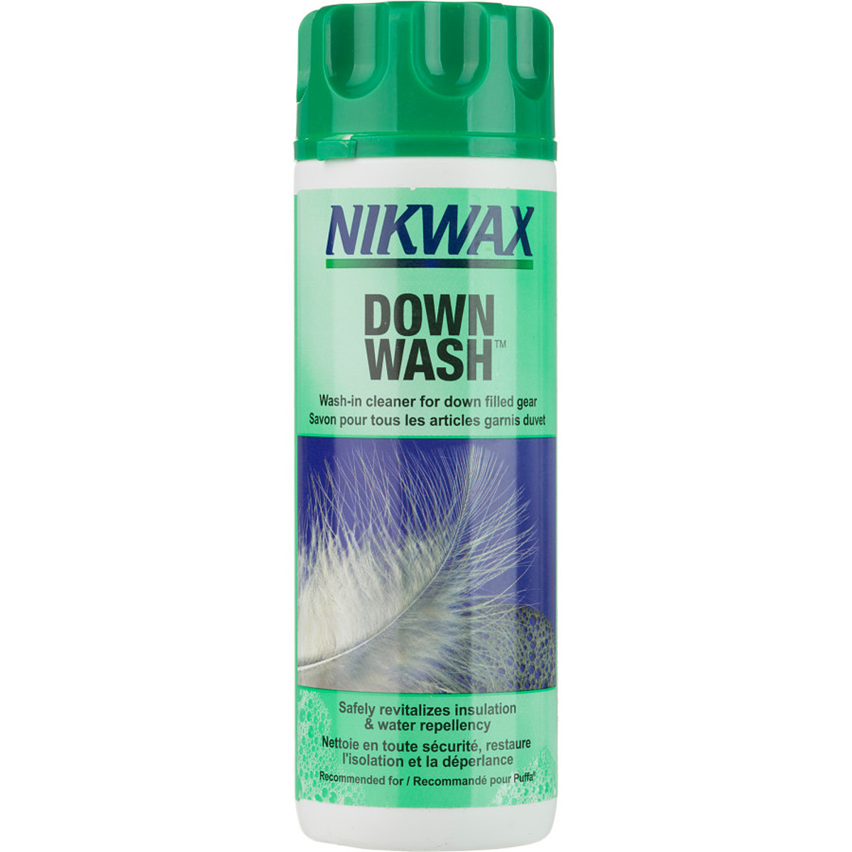 photo: Nikwax Down Wash down cleaner/treatment