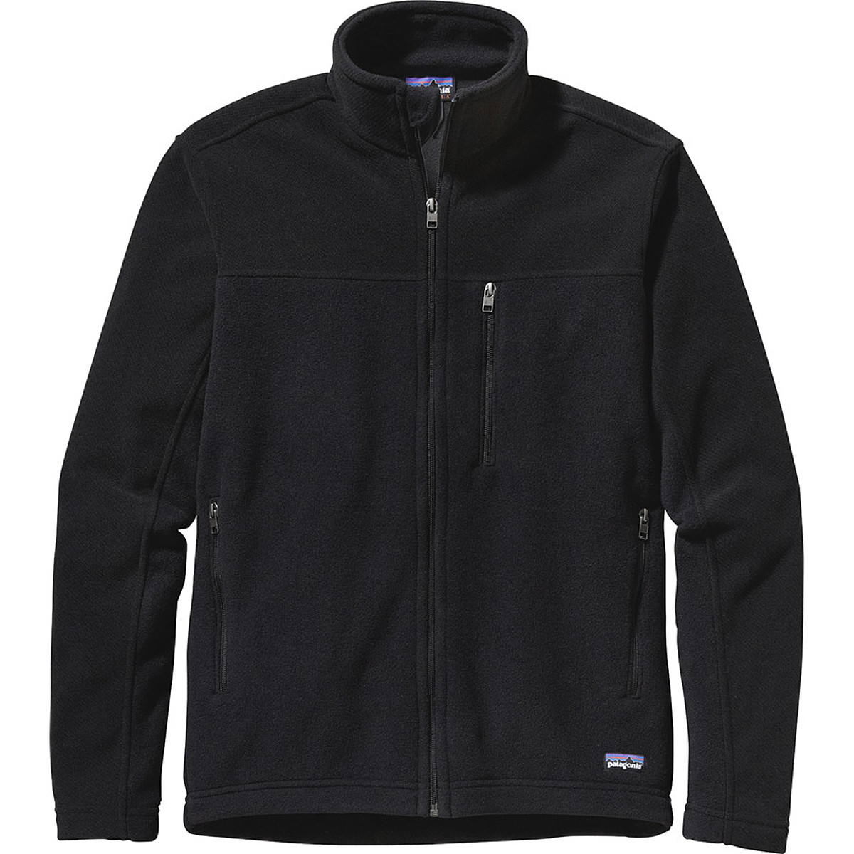 photo: Patagonia Men's Simple Synchilla Jacket fleece jacket