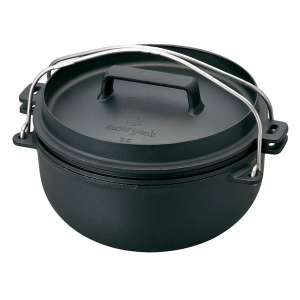 photo: Snow Peak Cast Iron Oven 26cm pot/pan