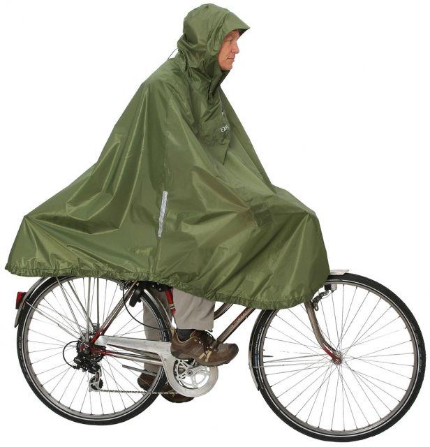 photo: Exped Daypack & Bike Poncho waterproof jacket