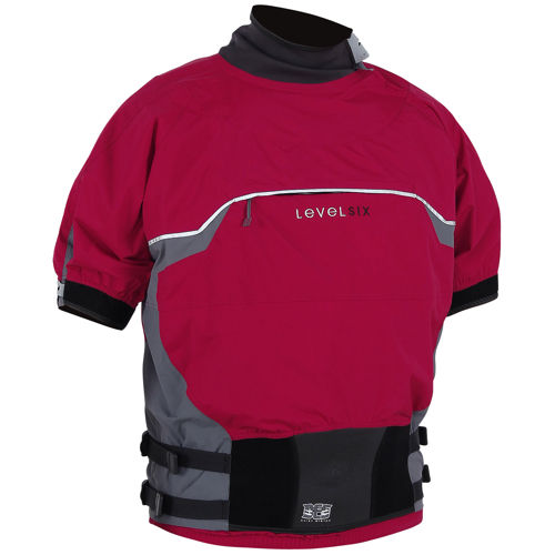 photo: Level Six Knight Semi-Dry Top short sleeve paddling shirt