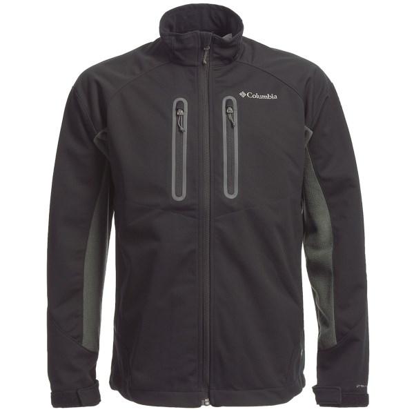 photo: Columbia Fleece Fusion Jacket soft shell jacket