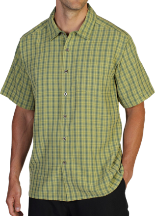 photo: ExOfficio Mundi Jacquard Shirt hiking shirt