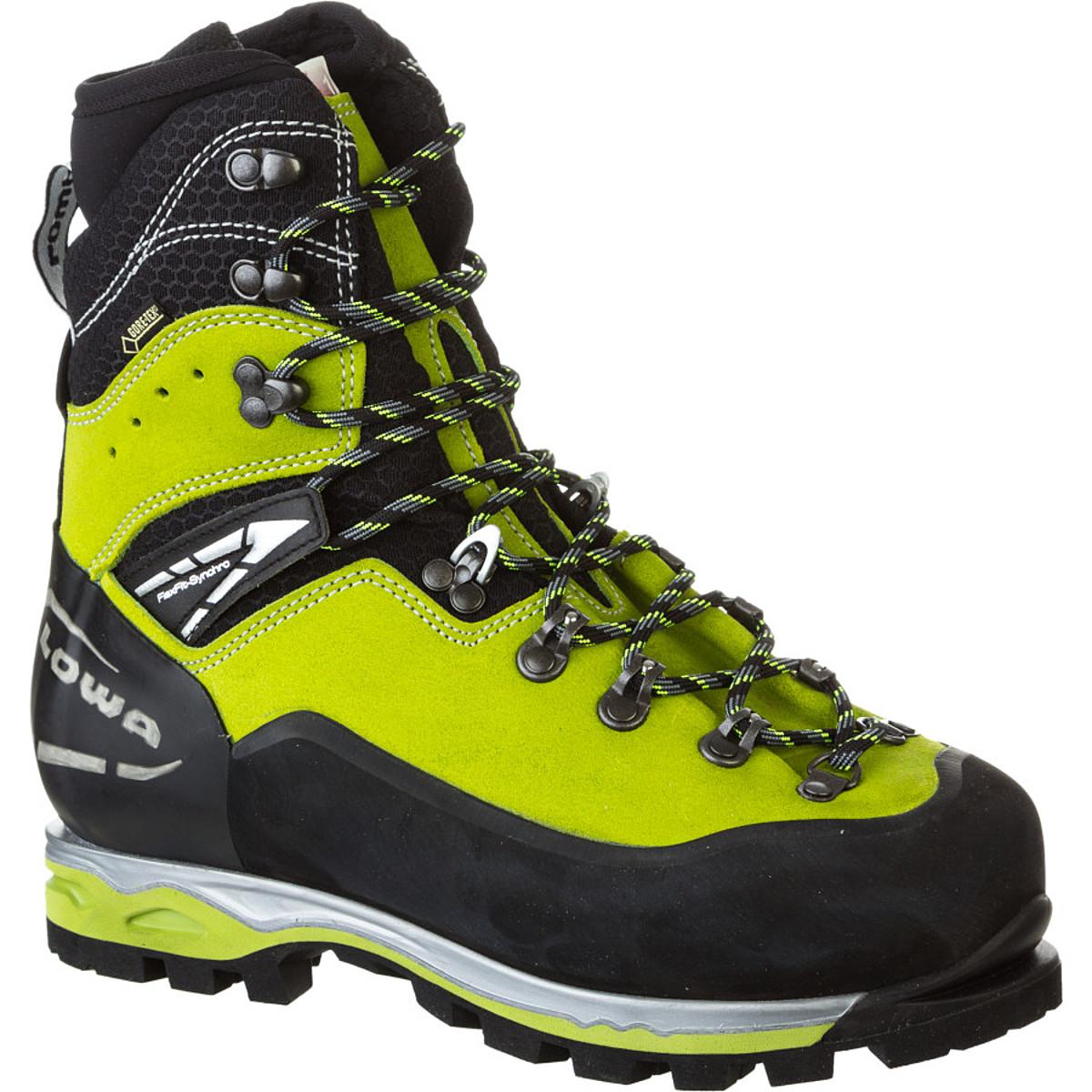 photo: Lowa Weisshorn GTX mountaineering boot