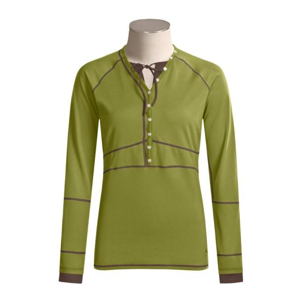 Mountain Hardwear Butter Button-Up Long Sleeve