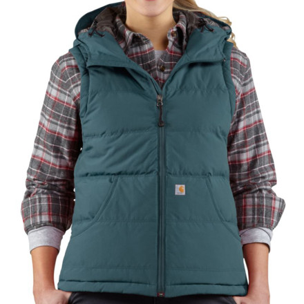 photo: Carhartt Portland Down Vest down insulated vest