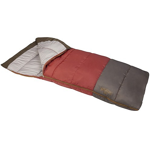 photo: Wenzel Lodgepole 40° - 50° Sleeping Bag warm weather synthetic sleeping bag