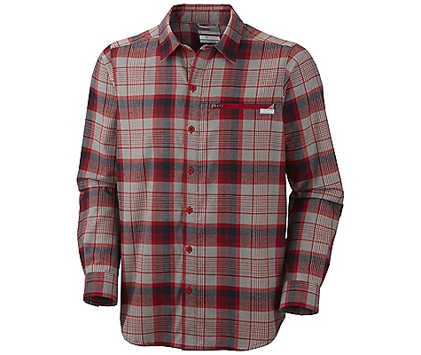 photo: Columbia Cool Creek Plaid Long Sleeve Shirt hiking shirt