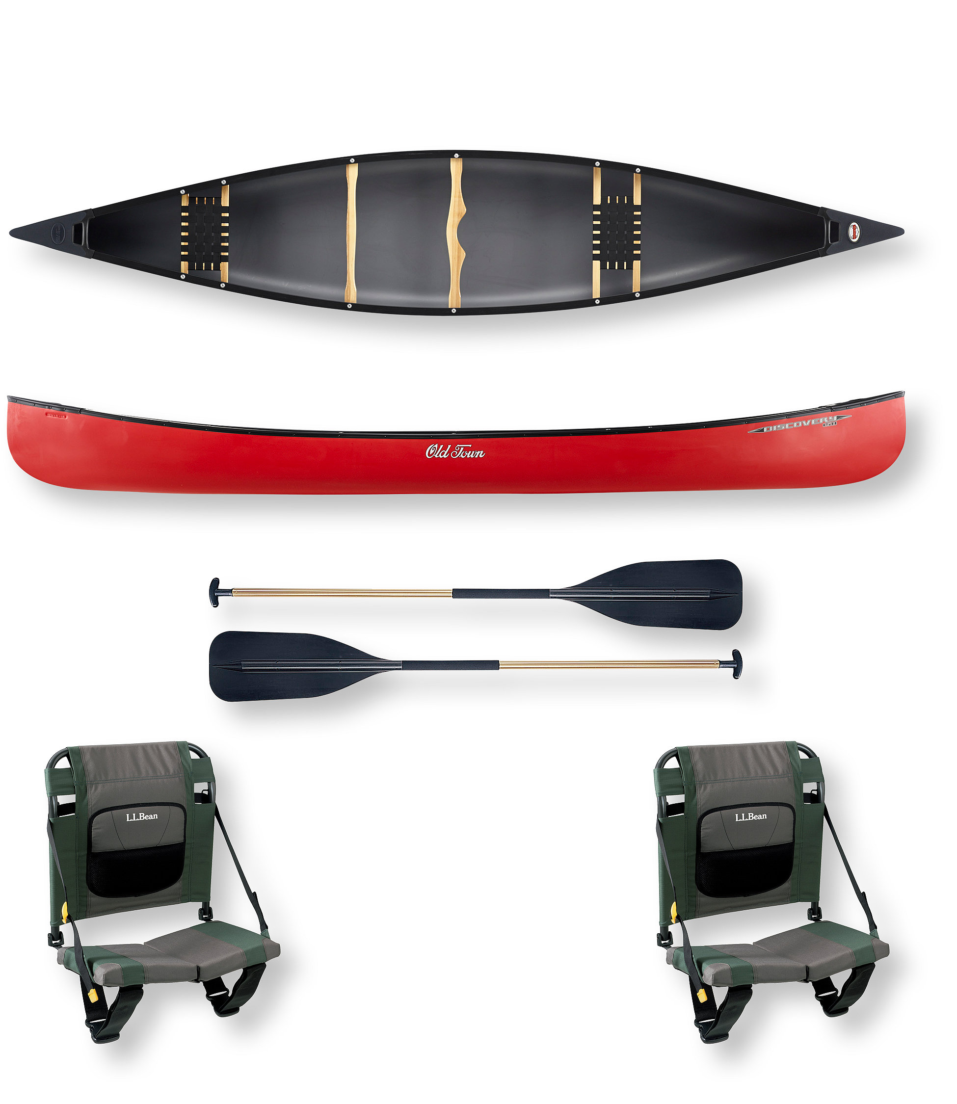 photo: Old Town Discovery 158 recreational canoe