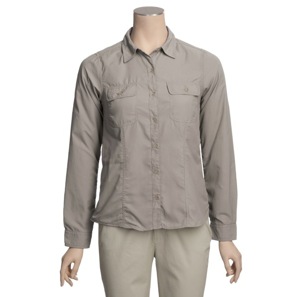 photo: Royal Robbins Windsong Shirt hiking shirt