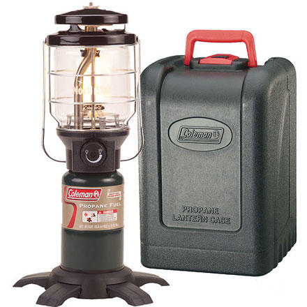 photo: Coleman Northstar PerfectFlow InstaStart Propane Lantern fuel-burning lantern