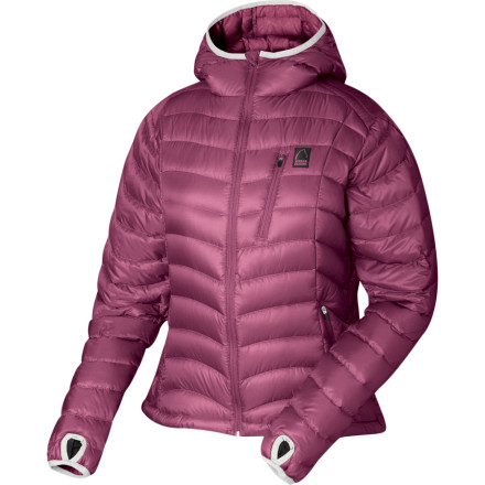 photo: Sierra Designs Women's Gnar down insulated jacket