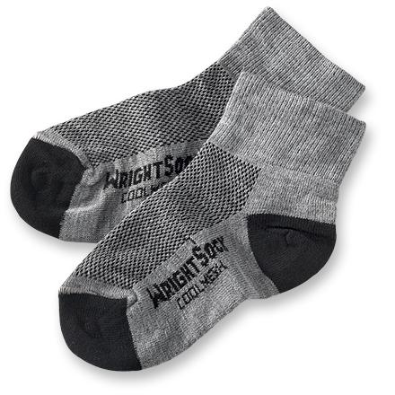 WrightSock Coolmesh Quarter Sock