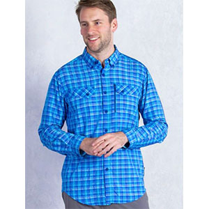 ExOfficio Sol Cool Cryogen Plaid Long-Sleeve Shirt