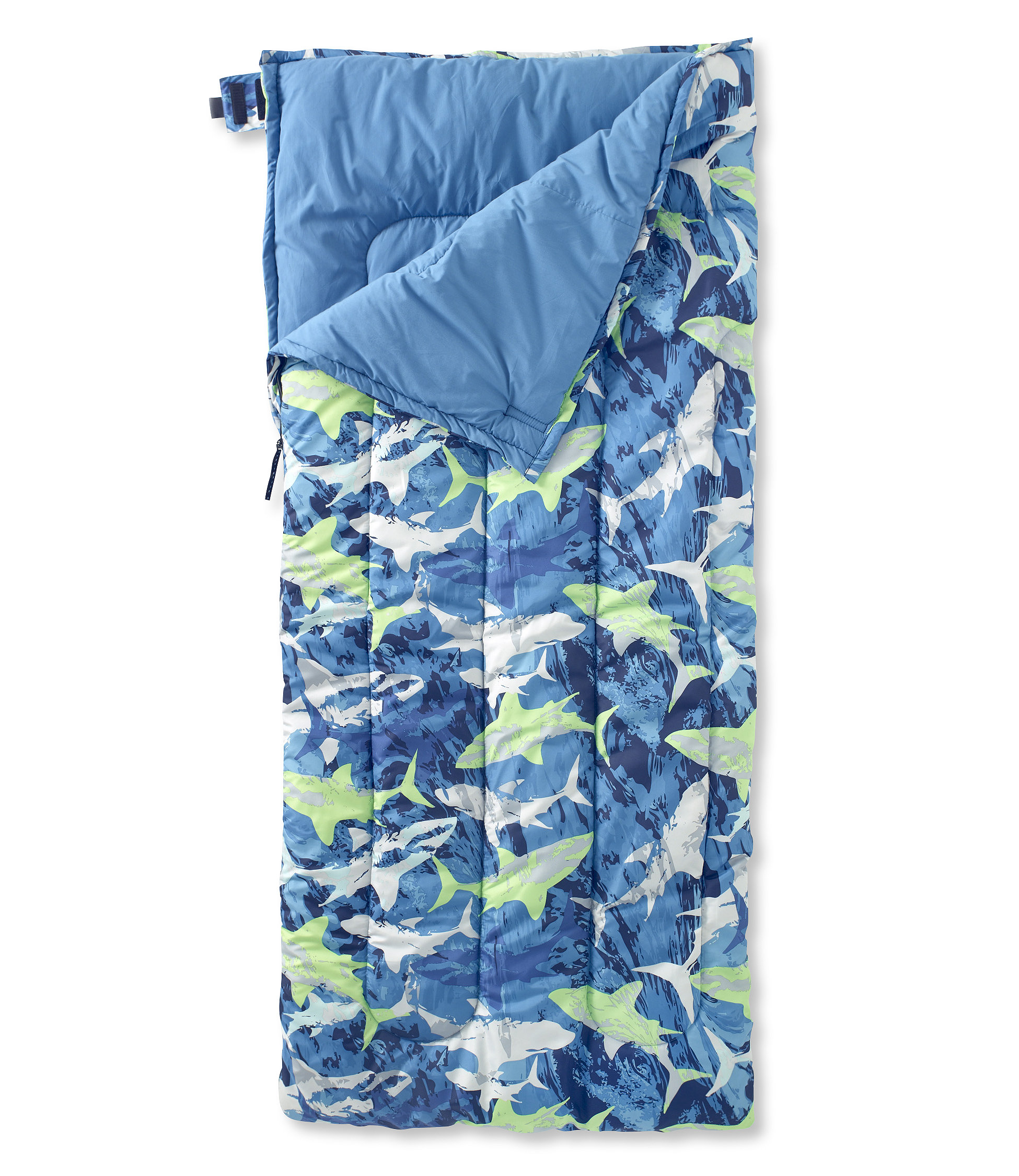 L.L.Bean Camp Sleeping Bag, Cotton-Blend-Lined Regular 40°
