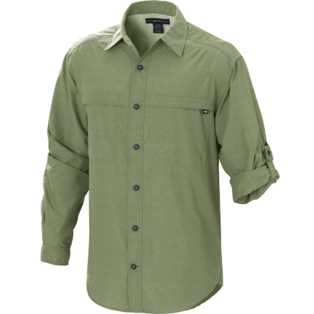 photo: ExOfficio Trip'r Long-Sleeve Shirt hiking shirt