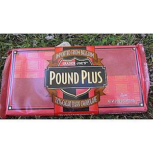 Trader Joe's Pound Plus 72% Cacao Dark Chocolate