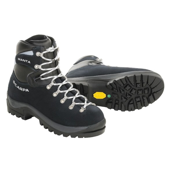 photo: Scarpa Manta mountaineering boot