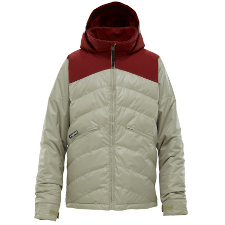 photo: Burton Boys' Puffaluffagus Jacket snowsport jacket