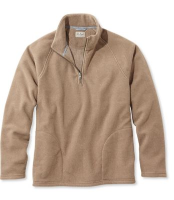 photo: L.L.Bean Textured Fleece Quarter-Zip, Slightly Fitted fleece top