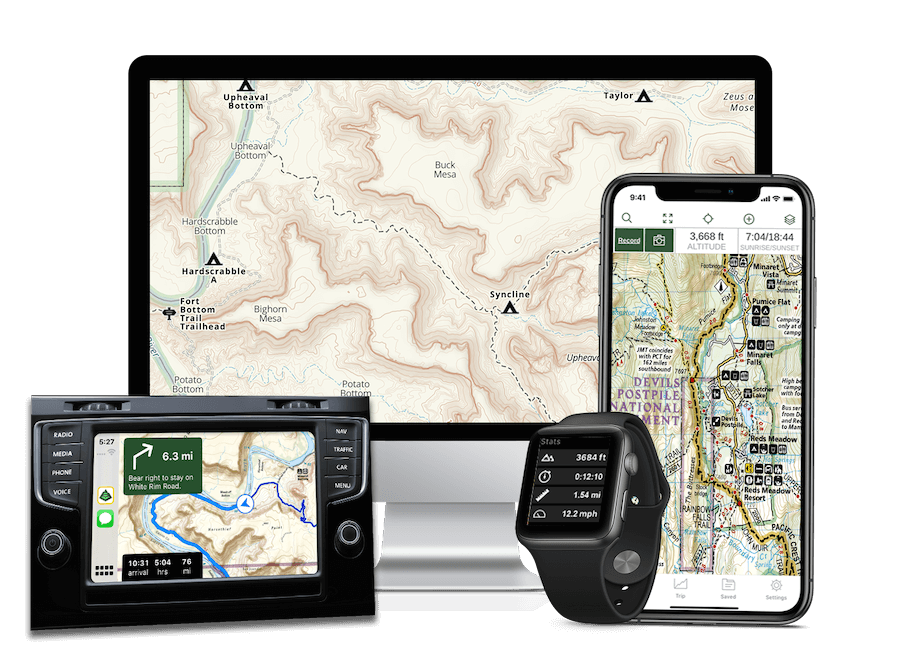 photo: Gaia GPS Hiking, Offroad Maps App outdoor app