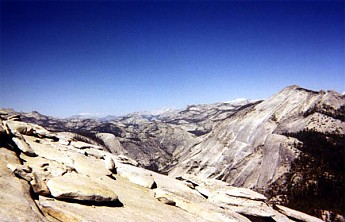 On-top-of-Half-Dome-looking-east-Clouds-
