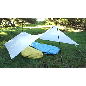 photo: Gossamer Gear SpinnTwinn tarp/shelter
