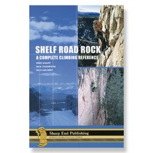 photo: Sharp End Publishing Shelf Road Rock: A Complete Climbing Reference us mountain states guidebook