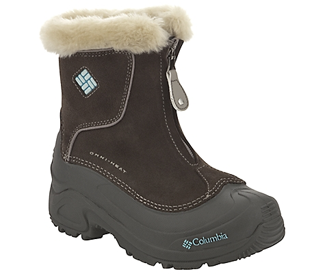 photo: Columbia Girls' Bugaboot Plus Zip winter boot