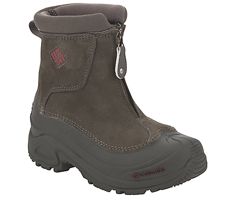 photo: Columbia Boys' Bugaboot Plus Zip winter boot