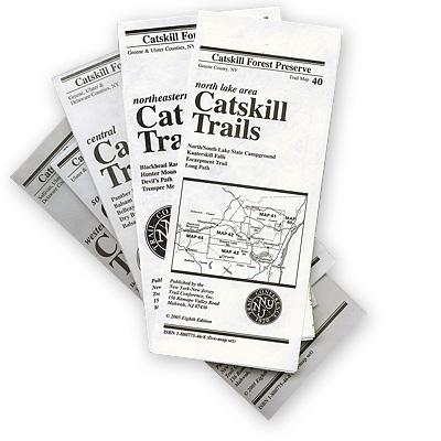 NY-NJ Trail Conference Catskill Trails Set