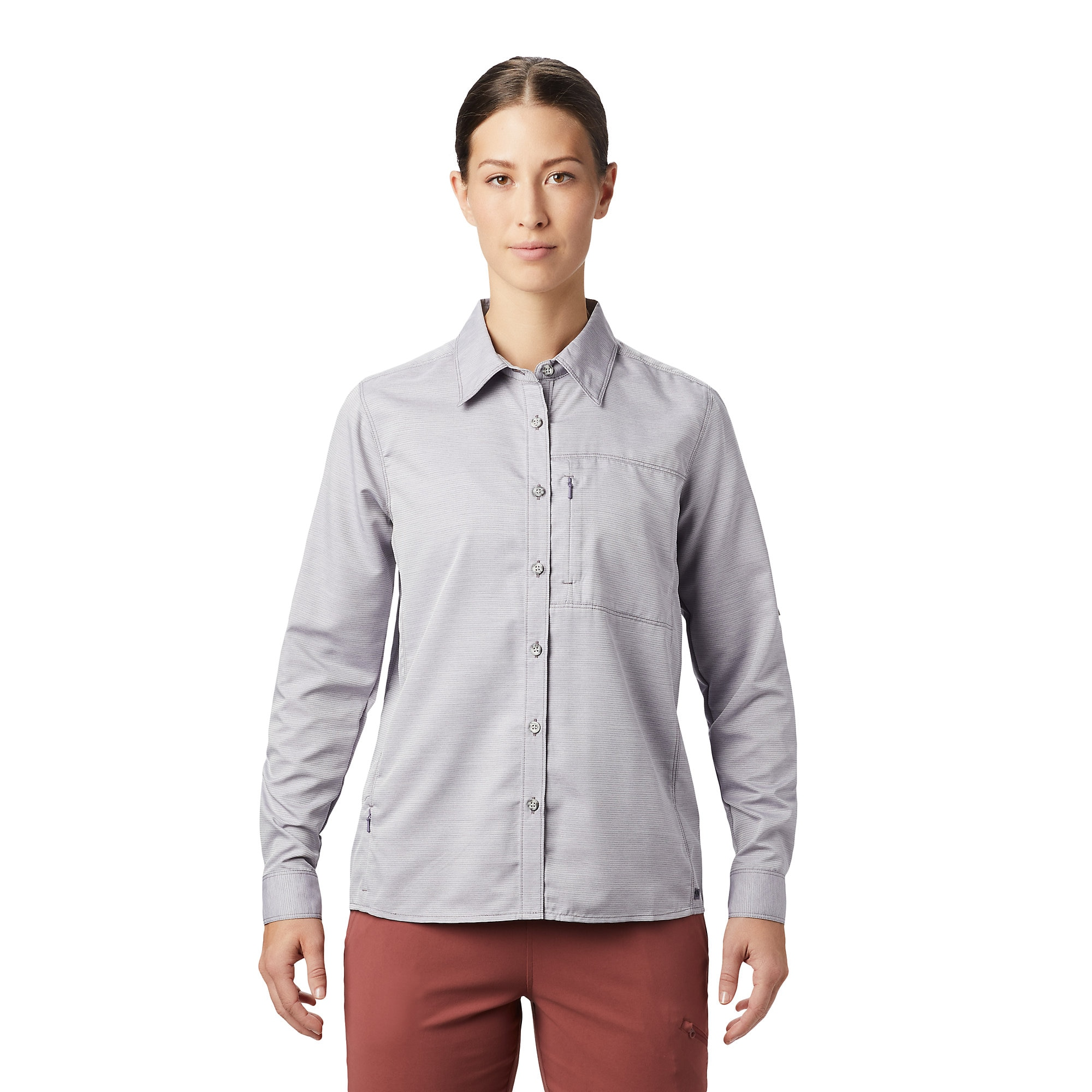 photo: Mountain Hardwear Women's Canyon Shirt Long Sleeve hiking shirt