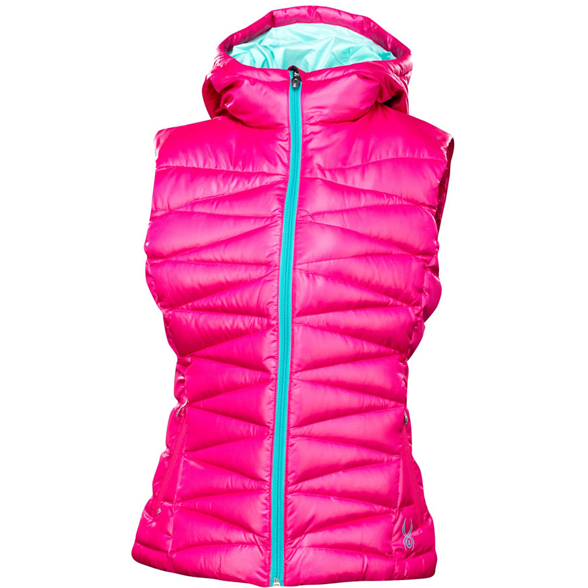 photo: Spyder Timeless Hoody Down Vest down insulated vest
