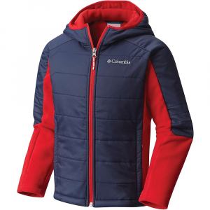 photo: Columbia Fast Trek Hybrid Hoodie synthetic insulated jacket