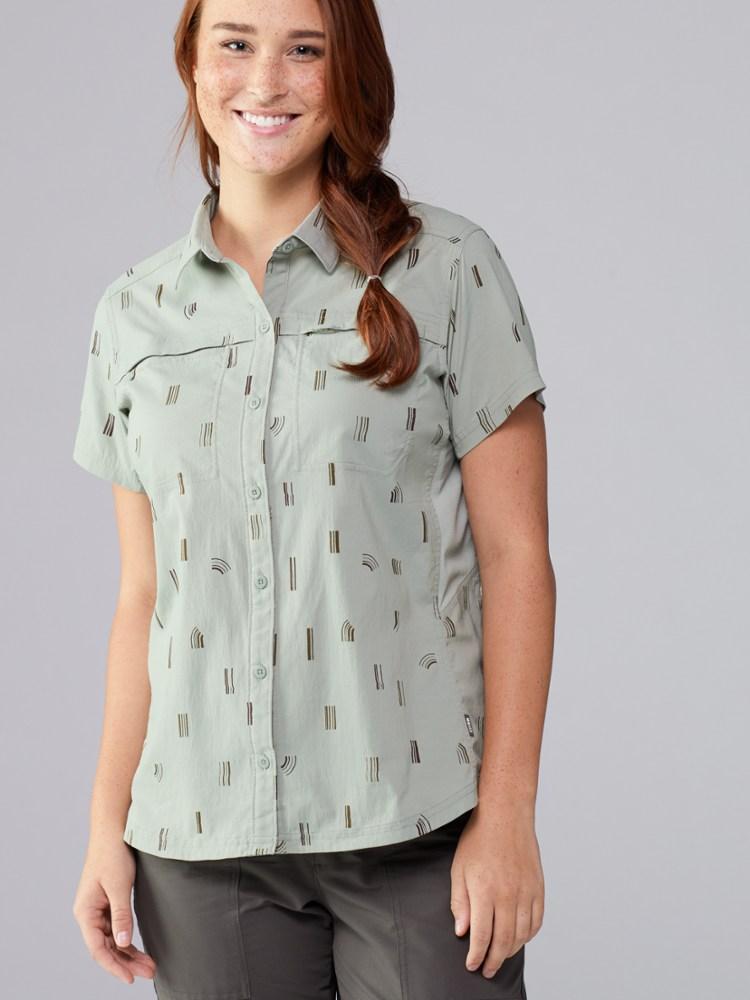 photo: REI Women's Sahara Shirt hiking shirt