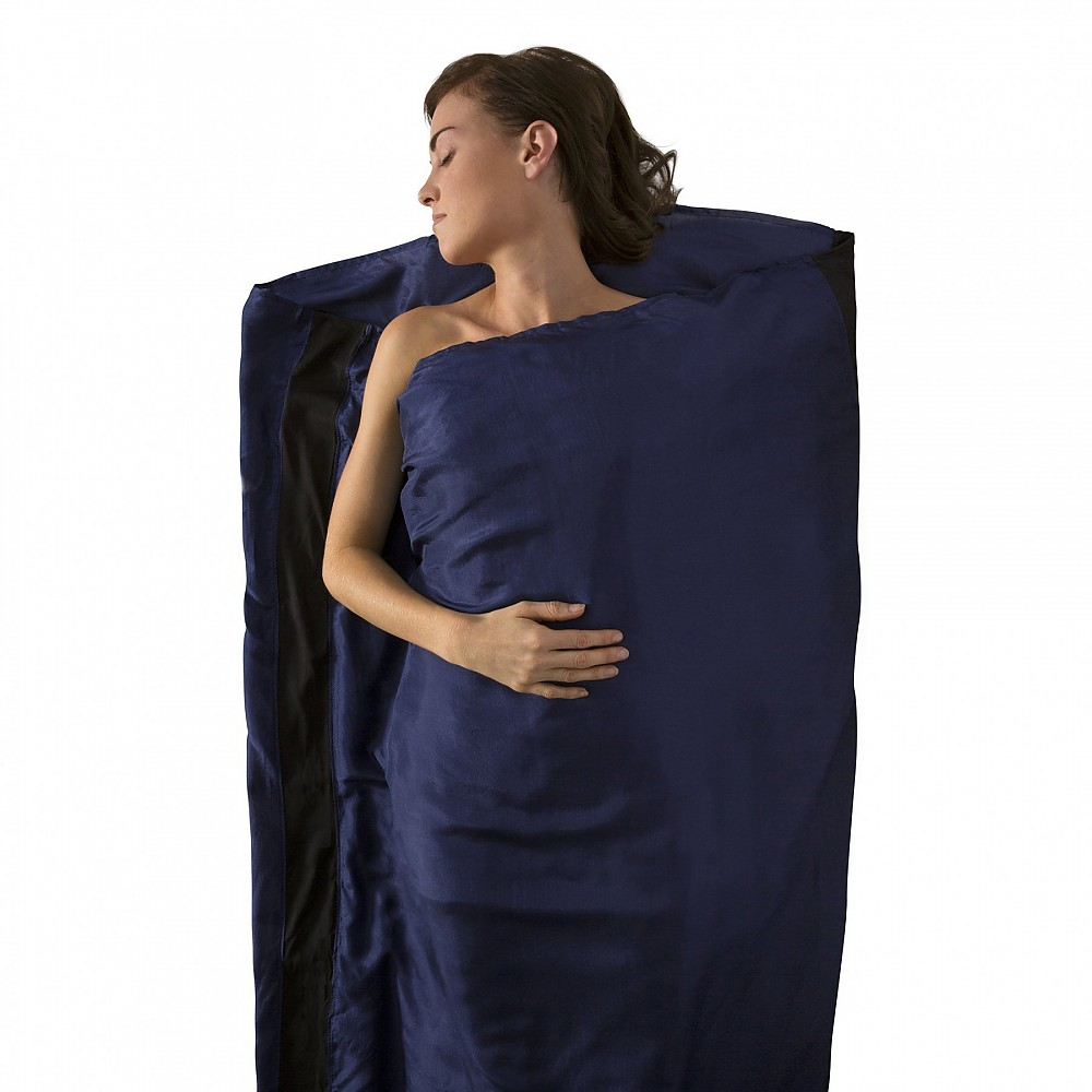 photo: Sea to Summit Premium Silk Travel Liner sleeping bag liner
