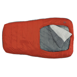 photo: Sierra Designs Backcountry Bed Duo SYN 1.5-Season warm weather synthetic sleeping bag