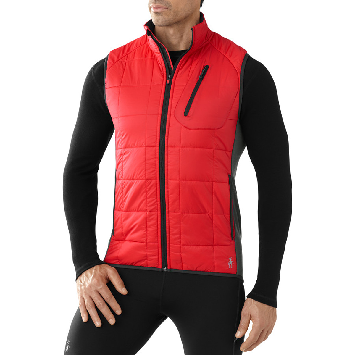 photo: Smartwool PhD SmartLoft Divide Vest synthetic insulated vest
