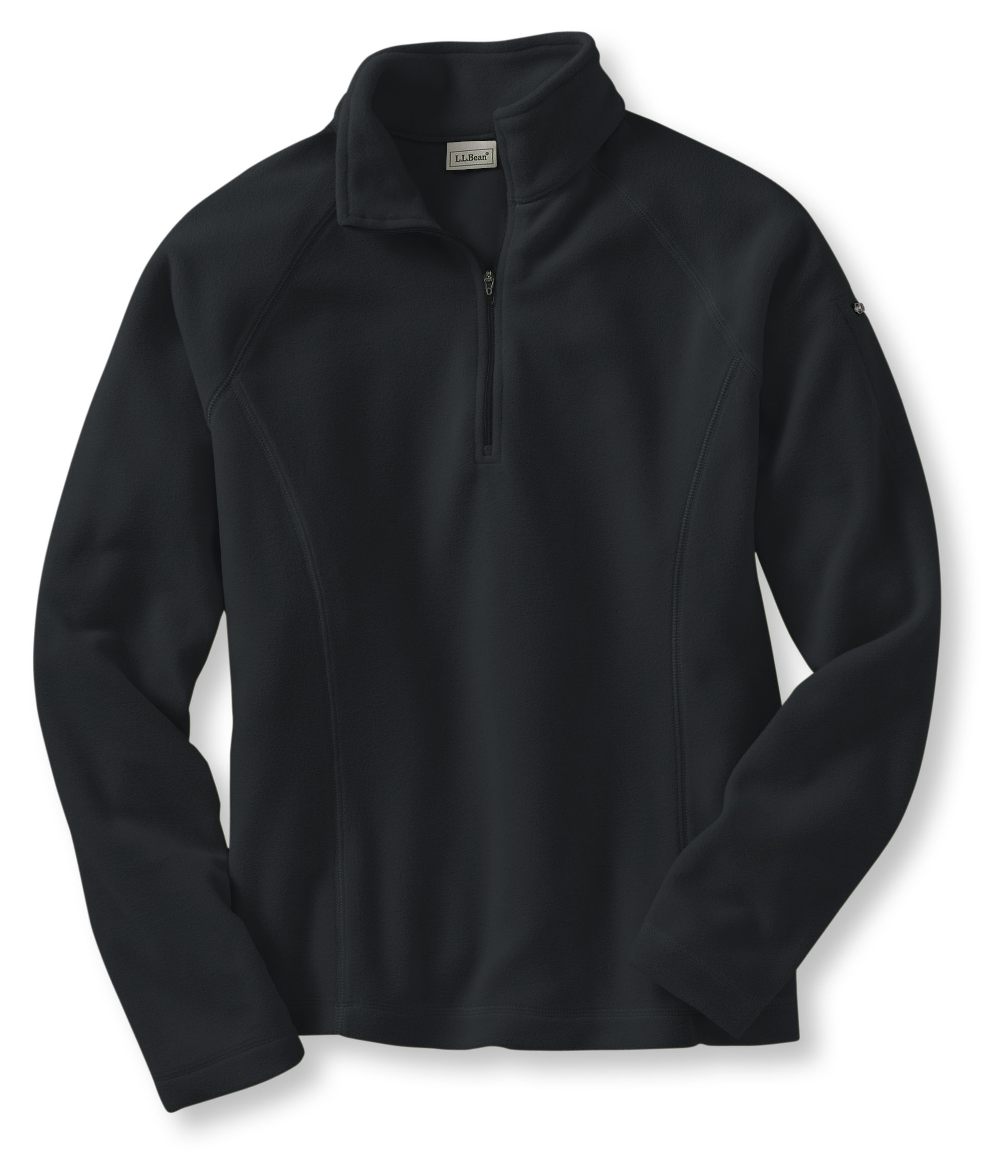 L.L.Bean Fitness Fleece, Quarter-Zip Pullover