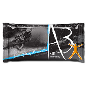 photo: A3 White Lightning Marshmallow Bar nutrition bar