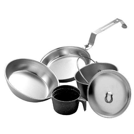 photo: Open Country Individual 5-Piece Aluminum Mess Kit pot/pan