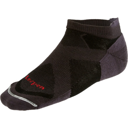 photo: Lorpen Tri-Layer Light Running Sock running sock