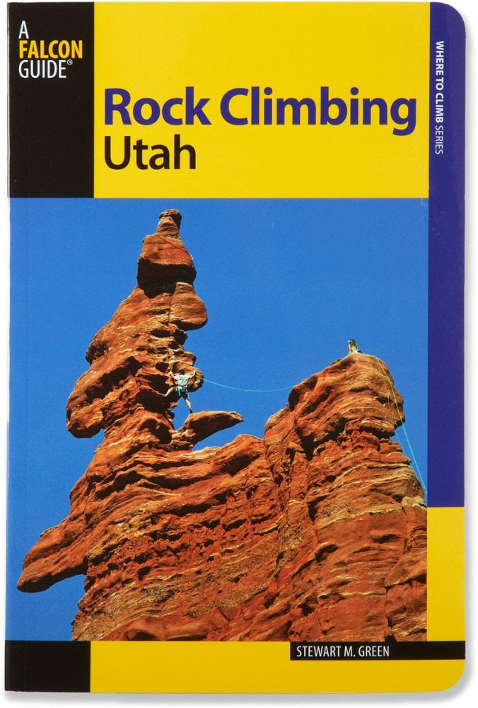 Falcon Guides Rock Climbing Utah