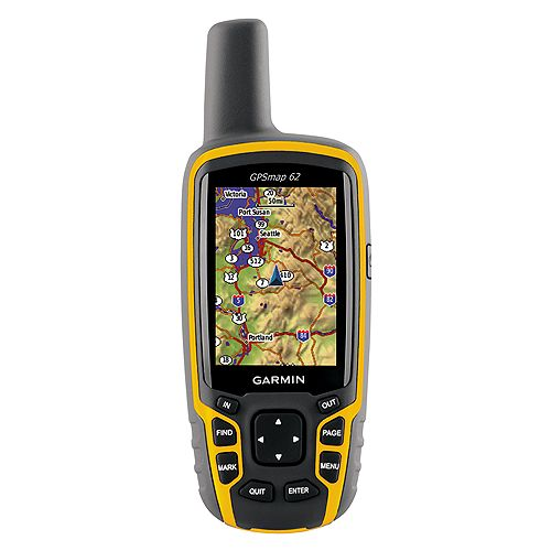 photo: Garmin GPSMap 62 handheld gps receiver