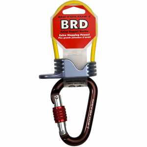 photo: Metolius BRD with Element Carabiner belay/rappel device