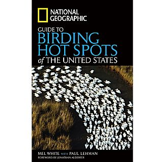 photo: National Geographic Guide to Birding Hot Spots of the United States plant/animal identification guide