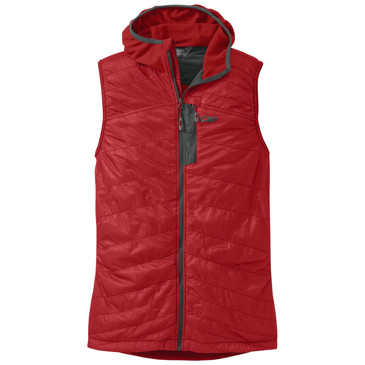 photo: Outdoor Research Deviator Hooded Vest synthetic insulated vest
